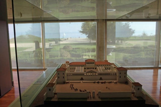 Model of the Villa Colombier in the Laténium