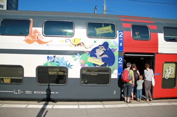 Transportation to Fribourg / Freiburg in Switzerland