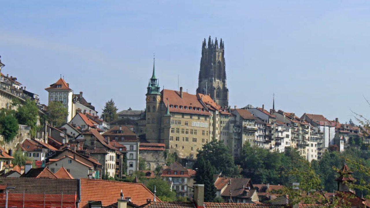 Photos of Fribourg (Freiburg) in Switzerland - Lake Geneva Switzerland