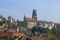 Photos of Fribourg (Freiburg) in Switzerland