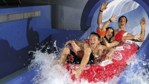 Waterslides and Tobogganing Fun at Aquaparc in Le Bouveret