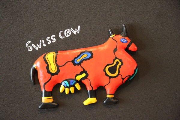 Swiss Cow by Niki de Saint Phalle
