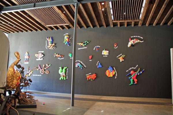 """""""Remembering"""" in the Espace Jean Tinguely Niki de Saint Phalle Gallery in Fribourg"""
