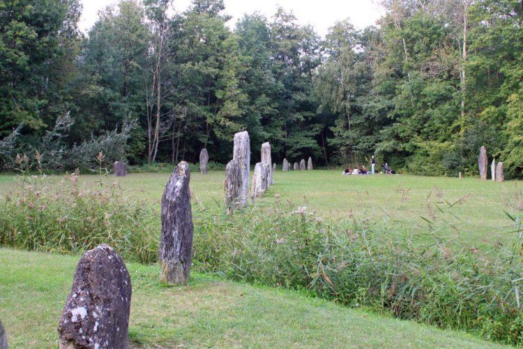 Menhirs in Yverdon-les-Bains