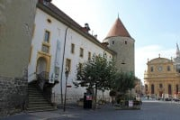 Yverdon Castle and Museum in Switzerland