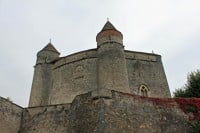 Medieval Chateau de Grandson Castle on Lake Neuchatel