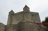 Medieval Chateau de Grandson Castle on Lake Neuchatel