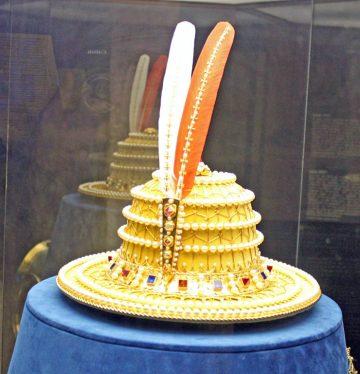 Duke of Burgundy's Hat in Chateau de Grandson Castle