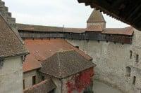 Chateau de Grandson Castle Sentries Walk