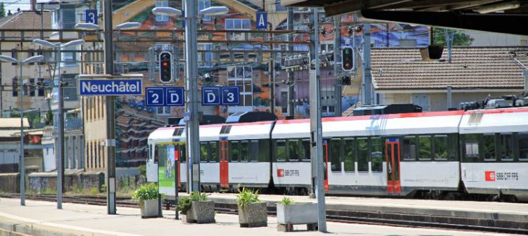 Neuchatel Train Station