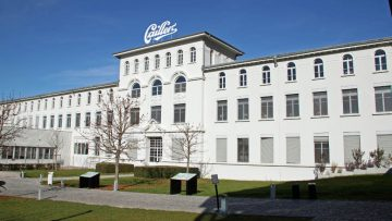 Cailler Chocolate Factory in Broc, Switzerland