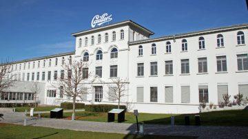 Cailler Chocolate Factory in Broc, Switzerland