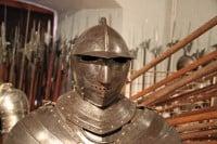 Savoyan Armor in Château de Morges Castle, Lac Léman