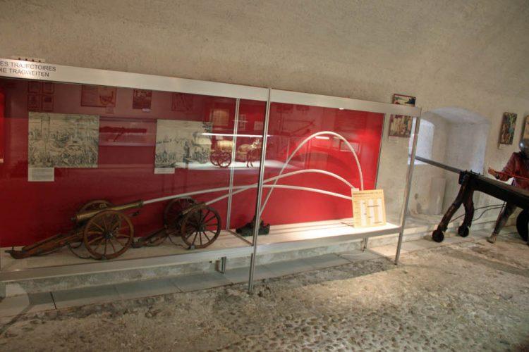 Artillery Museum in Château de Morges Castle, Switzerland