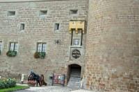 Entrance to Château de Morges Castle, Switzerland