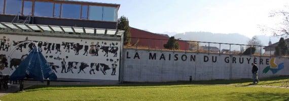 Maison du Gruyère cheese factory in Switzerland