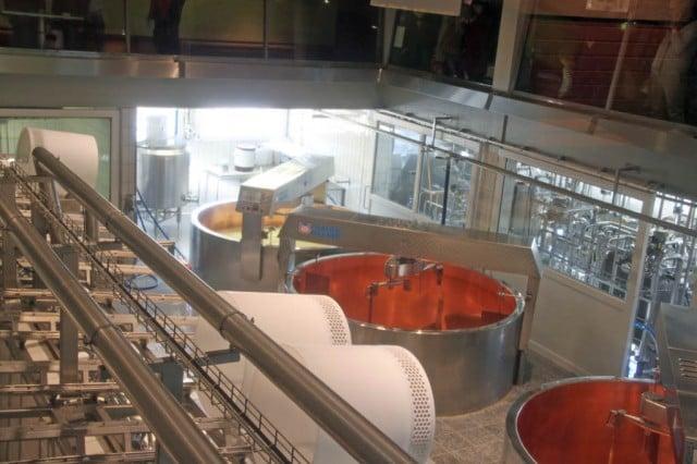 La Maison du Gruyère Cheese Factory in Switzerland