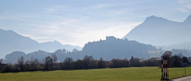 Hilltop Gruyères in Switzerland
