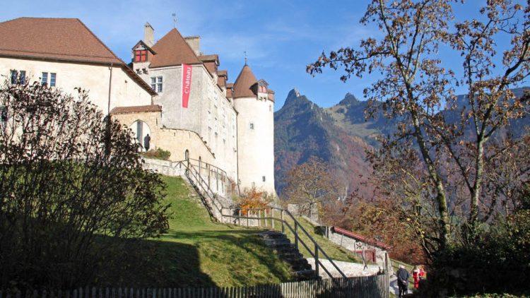 Gruyères Castle in Switzerland