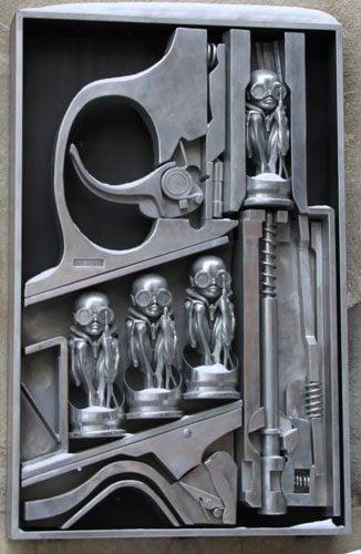 HR Giger Museum in Gruyères, Switzerland