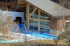Les Bains du Val d'Illiez Parc Thermes Outdoor Pool