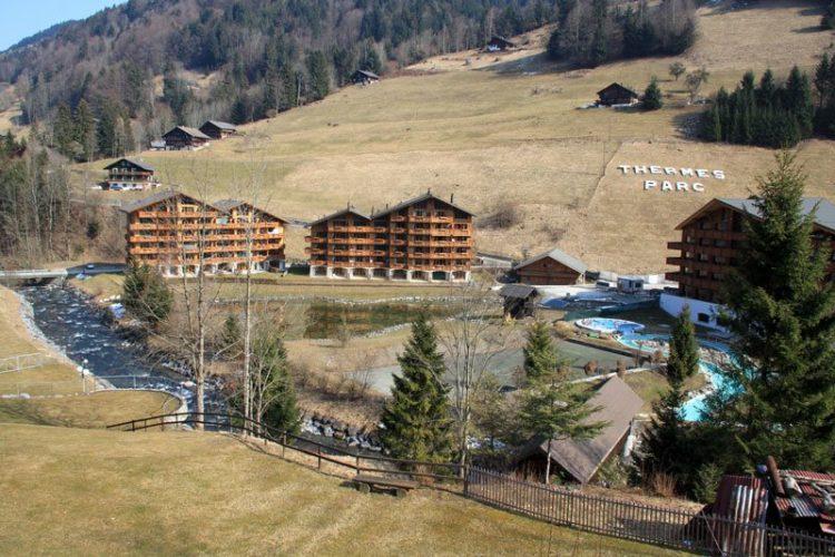 Thermes Parc Les Bains du Val d'Illiez