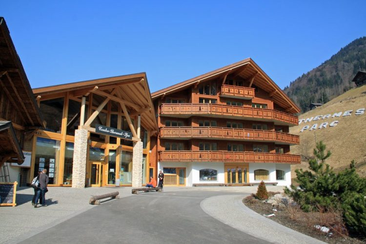 Val d'Illiez Spa with Hotel in Valais, Switzerland