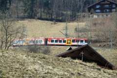 Train the Illiez Valley in Switzerland