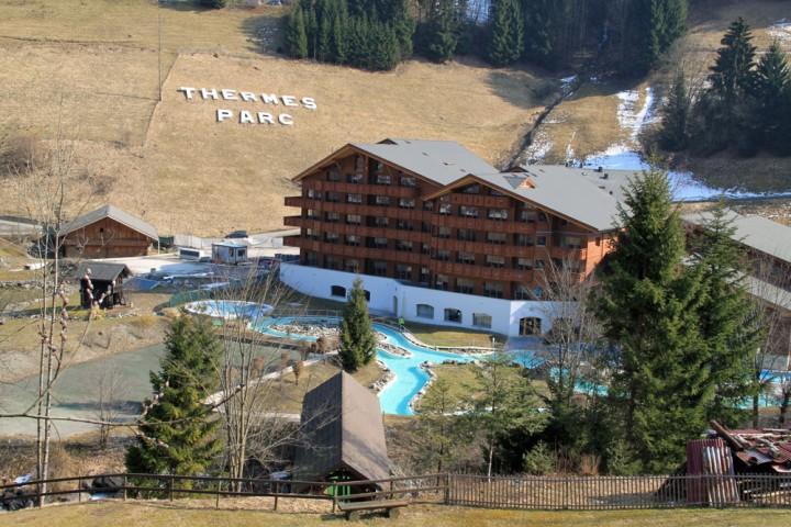 Les Bains du Val d'Illiez Parc Thermes