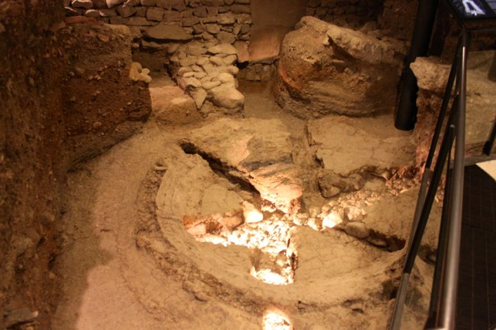 Bell Foundry in the Archaeological Site St Pierre in Geneva