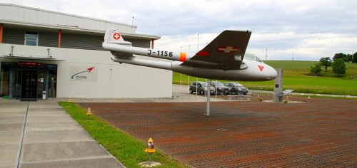 Visit the Clin d'Ailes Swiss Air Force Museum near Payerne