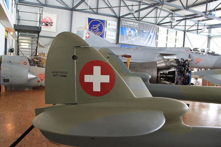 Clin d'Ailes Museum of Military Aviation in Payerne