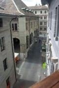 View from Maison Tavel Museum in Geneva