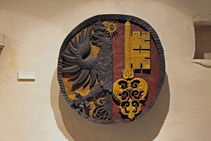Geneva's Emblem in the Maison Tavel Museum