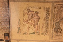 Mosaic in the Roman Museum in Avenches