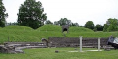 Roman Theater in Avenches in Switzerland