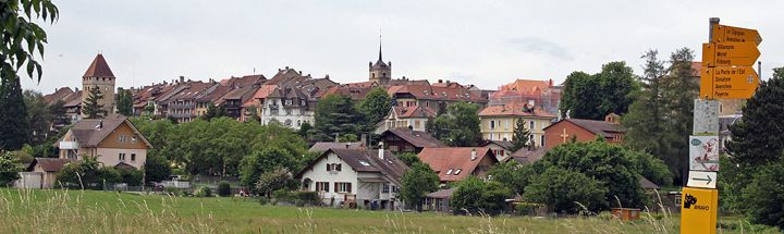 Avenches in Switzerland