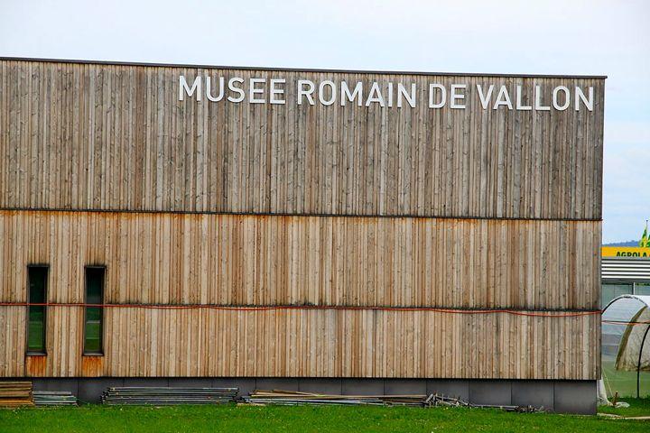 The Musée Romain in Vallon Switzerland
