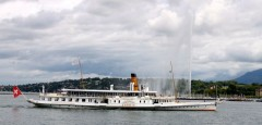 Savoy Paddle Steamer in Geneva