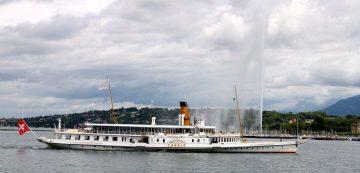 Savoy Paddle Steamer in Geneva
