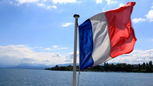 Approaching Yvoire in France by CGN Boat