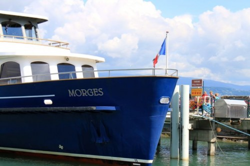 Morges Ferry Boat in Yvoire in France