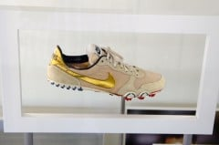 Carl Lewis's Running Shoe in the Olympic Museum