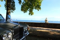 Rolls Royce at the British Classic Cars in Morges