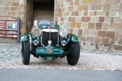 British Classic Cars at the Chateau de Morges