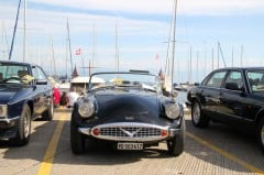 Daimler on Show at at the British Classic Cars Meeting in Morges