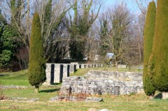 Roman Archaeological Park in Lausanne
