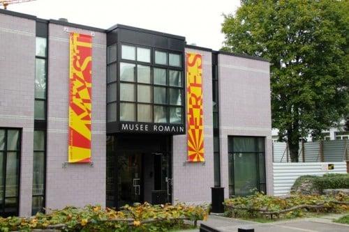 Roman Museum in Lausanne-Vidy