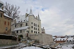 Chateau de Nyon in Winter