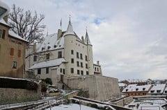 Chateau de Nyon in Winter